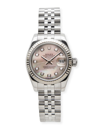 Classic Rolex Ladies' DateJust Diamond Watch