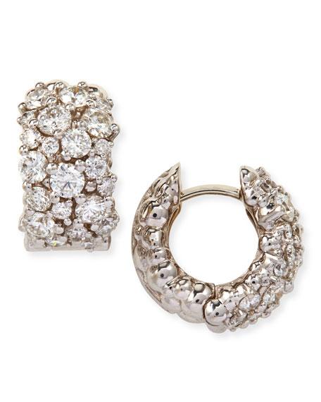 Paul Morelli 18K Gold Large Diamond Confetti Huggie Earrings wVusFyX