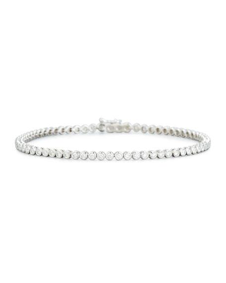 Memoire Diamond Line Bracelet in 18K Rose Gold xkIyvk4y