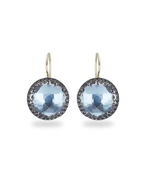 Larkspur & Hawk Olivia Topaz Drop Earrings with Azure Foil lx0Mrrf