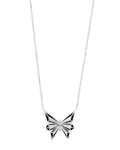 Fly by Night 18k Diamond Pendant Necklace