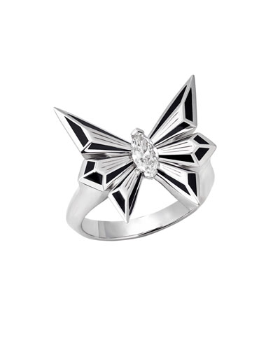 Fly by Night Marquis Diamond Ring, Size 8