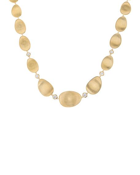 Marco Bicego 18k Lunaria Elevated Necklace w/ Diamonds tKKWpa