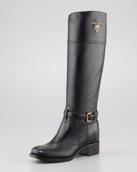 Prada Riding Boots Clearance Popular Cheap Huge Surprise h5QZheNQ