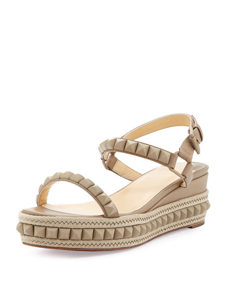 Christian Louboutin Slingback Platform Wedge Sandals wholesale price cheap price visit new cheap price free shipping pictures discount many kinds of 9zSUmTQM