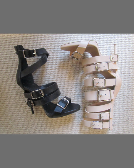 871c2def51 Giuseppe Zanotti Wrap-Around Buckle Strap Sandal