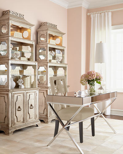 Lexington Office Furniture & Pagoda Etagere
