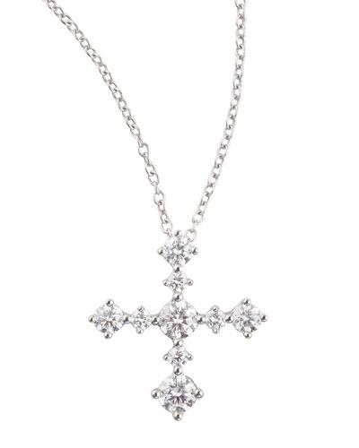 Anniversary Collection Diamond Cross Pendant Necklace