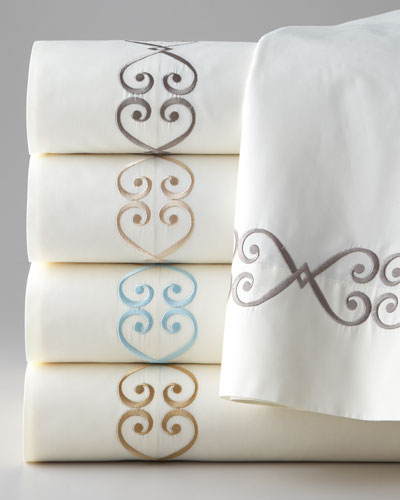 Embroidered Charleston Sheets