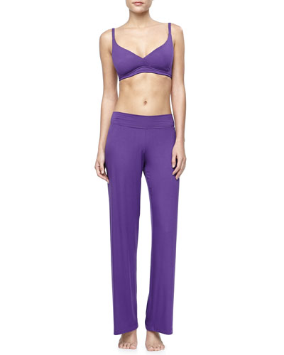 Talco Jersey Wireless Padded Bra & Pajama Pants