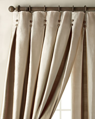 Amity Home Inverted Pleat Curtains