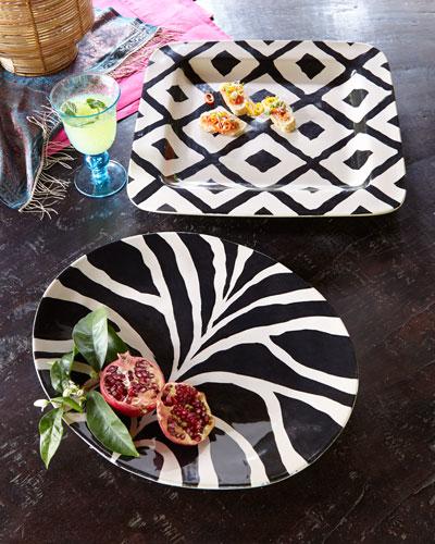 Black-and-Tan Platters