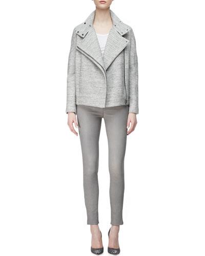 Pallenberg Knit Moto Jacket, Nikki Tank Top & L8001 Leather Leggings