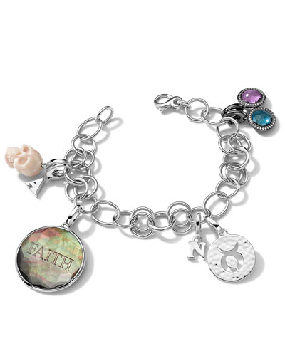 Bracelet and Assorted Charms
