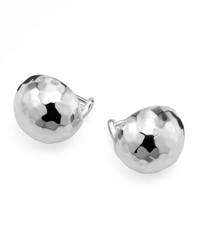 Sterling Silver Pinball Post & Clip-On Earrings