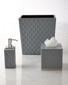 Gail Deloach Quilted Vanity Accessories