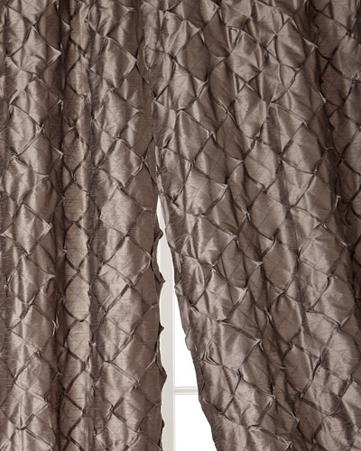 Home Silks, Inc. Ava Pintuck Curtains