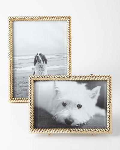 Gold Deco Twist Frames