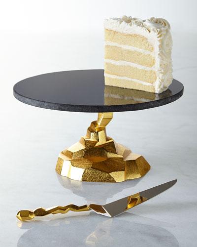 Rock Cake Stand & Server