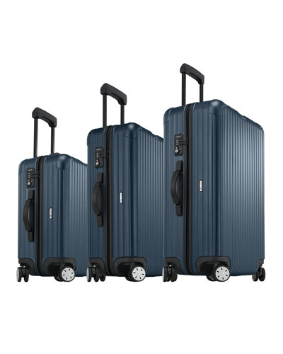Salsa Matte Blue Luggage