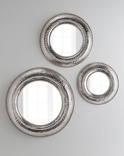 Grantland Hammered Mirror