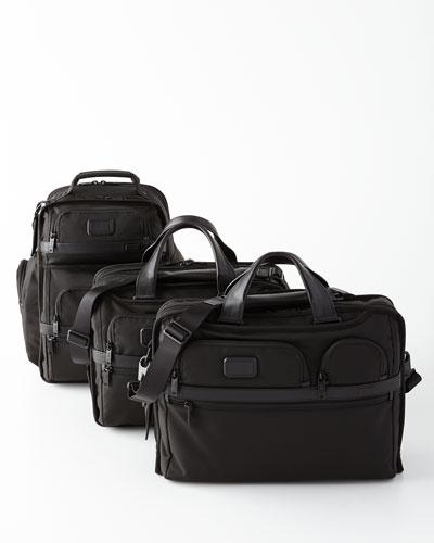 Alpha 2 Black Business Travel Bags