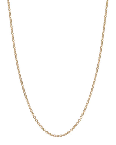 Assorted Yellow Gold Chain Necklaces