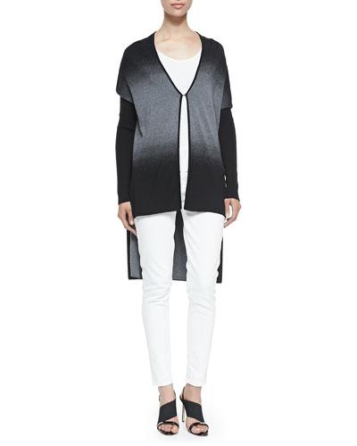 Alandrea Ombre High-Low Sweater, Netta Knit Scoop-Neck Tank & Azella ...