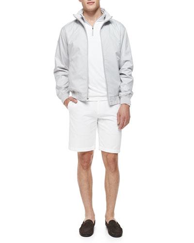 Austin Zip-Front Jacket, Perth Quarter-Zip Shirt & Raleigh Flat-Front ...