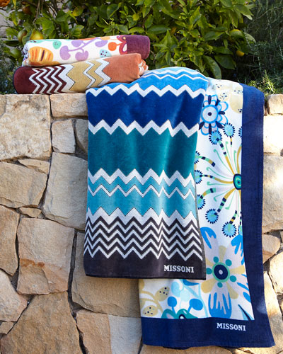 Rita & Rufus Beach Towels
