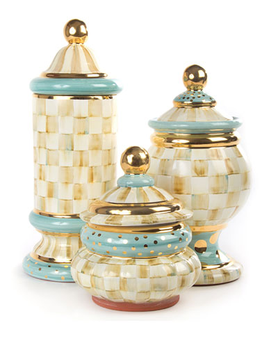 Parchment Check Canisters