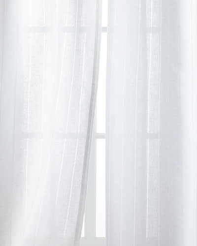 Hemstitch Stripe Curtains