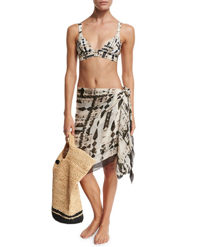 Neutra Swim Top, Bottom, Sarong, & Tote