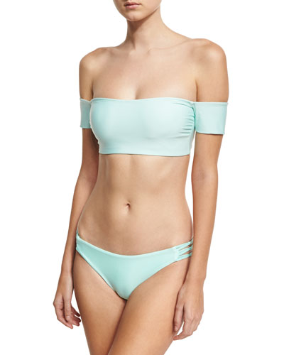 Sun Sational Cutout Swim Bottom, Green and Matching Items