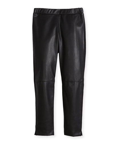 Vegan Leather Leggings, Size 4-7 and Matching Items