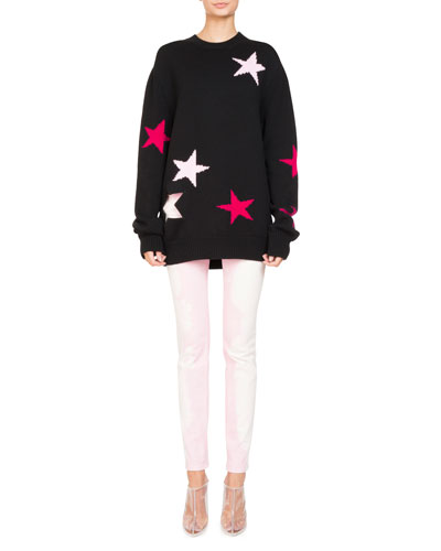 Star Knit Crewneck Sweater and Matching Items