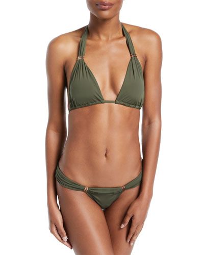 Bia Solid Swim Top, Green (Available in Extended Cup Size)  and Matching Items