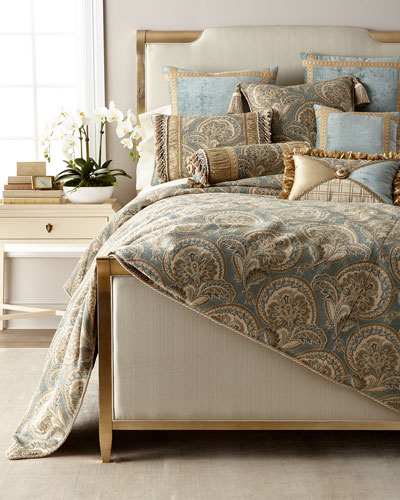 Willette Paisley Queen Duvet  and Matching Items