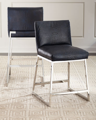 Adrift Leather Bar Stool  and Matching Items
