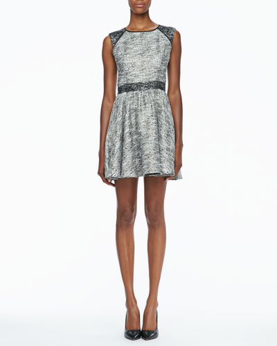 Marley Flared Tweed Dress