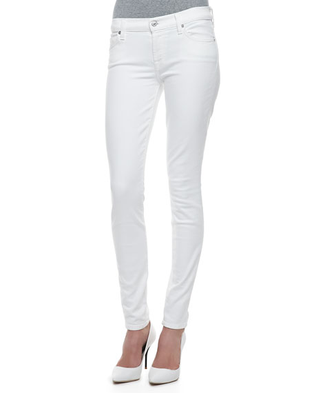 good quality choose official beautiful design The Skinny Slim Illusion White
