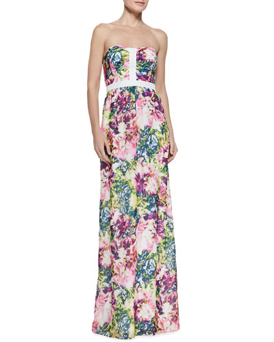 Bentley Floral-Print Maxi Dress