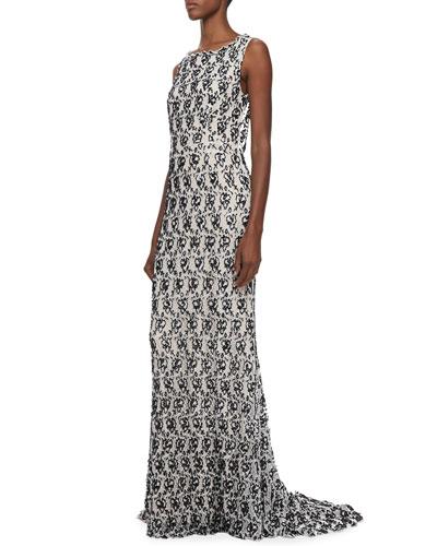 Saba Slim Embellished Gown