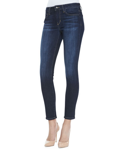 Faded-Wash Skinny Jeans, Rikki
