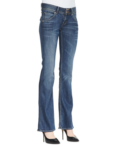 Signature Hackney Boot-Cut Jeans
