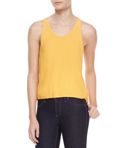 Paige Sleeveless High-Low Top