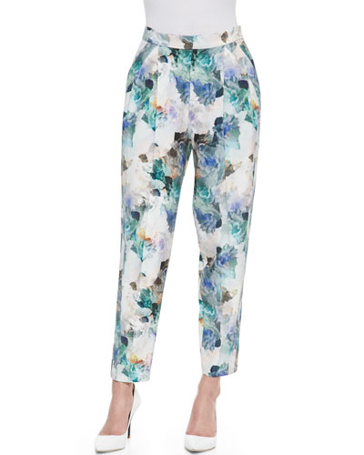 Enchanted Gardens Pleated Pants