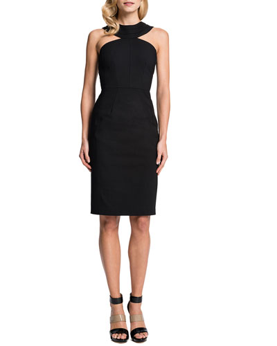 Lucia Cleopatra-Collar Sheath Dress