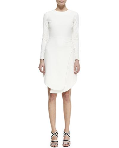Manera Knit Long-Sleeve Dress