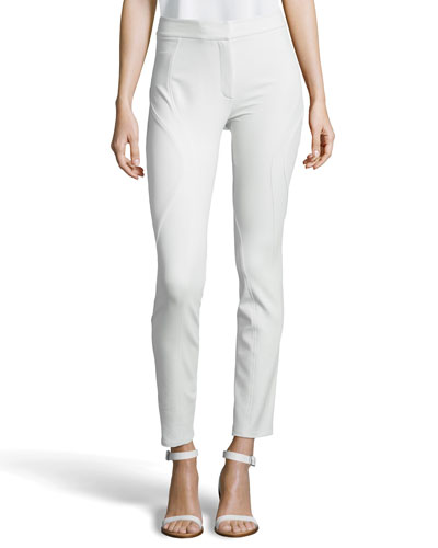 High-Waist Fitted Pant, Chlorine